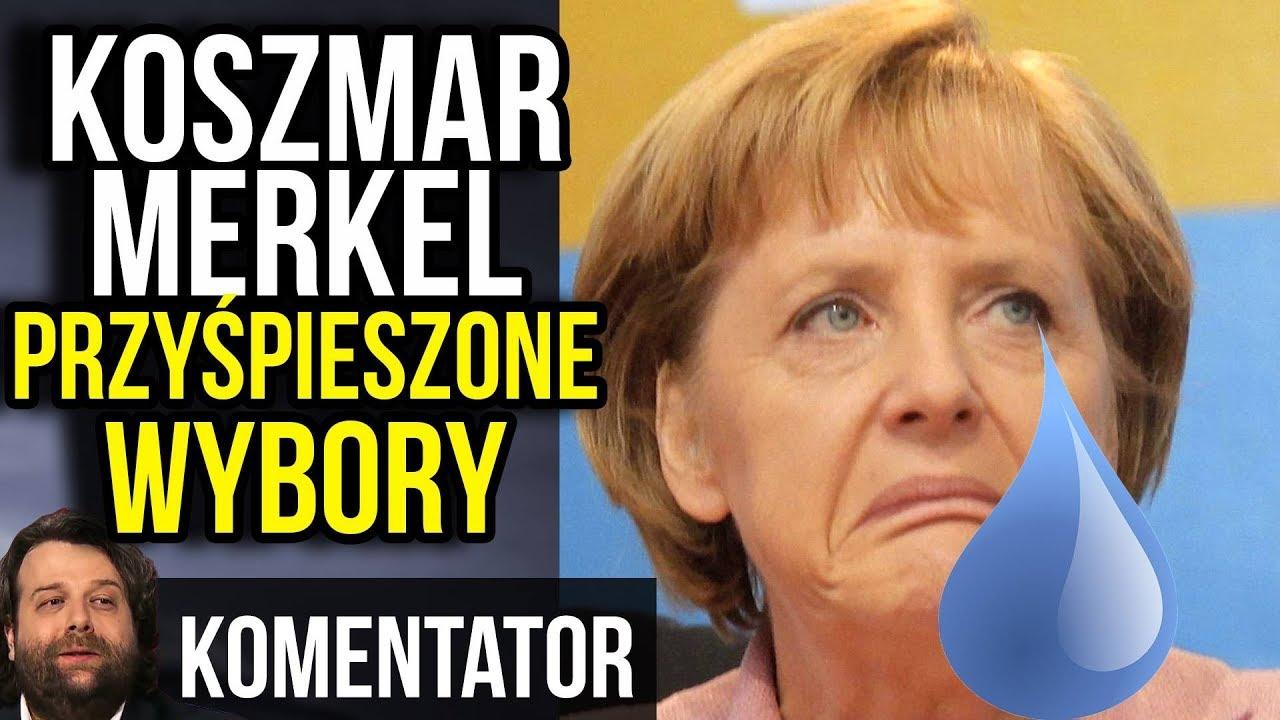 Tragedia Merkel – Przyśpieszone Wybory w Niemczech TO JUŻ FAKT