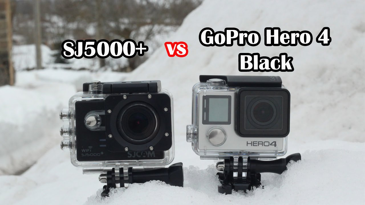 sj5000 plus sj5000 vs gopro hero 4 black youtube. Black Bedroom Furniture Sets. Home Design Ideas