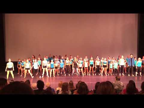 Triple Threat Talent Tour's Broadway Routine with Amy Spanger!