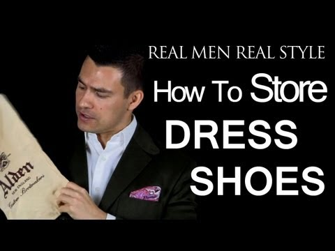 How To Store Men's Dress Shoes - Keeping Dust Off Your Boots - Male Footwear Style Tips
