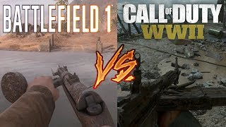 Battlefield 1 vs. Call Of Duty World War 2 - Attention To Detail