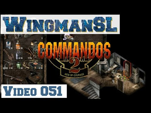 Let's Play || Commandos 2 - 051 - Mission 9 - Schloss Colditz (Geheime Dokumente)