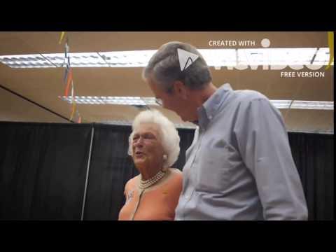 Barbara Bush tell Jeb she doesn't love him