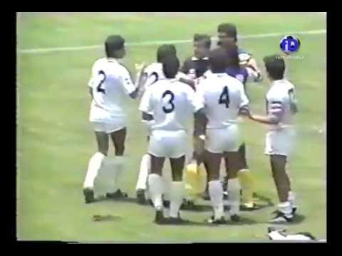 Club America vs Pumas UNAM Final 1987-88 completo