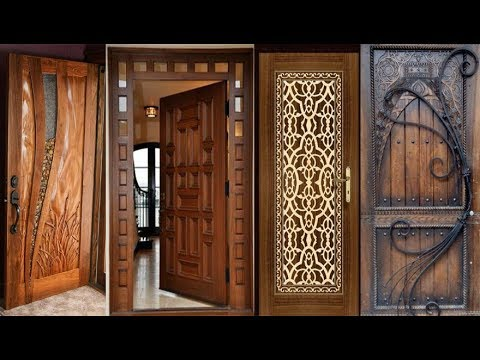 35 Modern And Stylish Wood Work Front Door Design Latest Kerala Style Wood Door Collection 2018