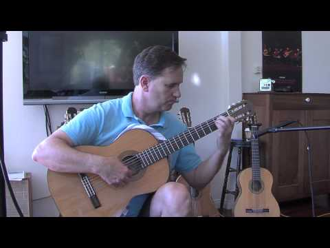 1912 Manuel Ramirez classical guitar owned by Pepe Romero, played by james Hunley
