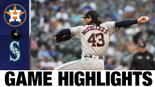 Astros vs. Mariners Game Highlights (7/27/21)