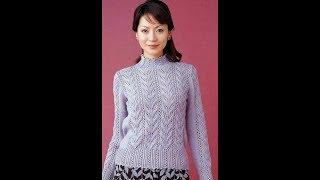 Вязание Спицами - Модные Свитера для Женщин - 2019 / Knitting Trendy Sweaters for Women