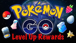 POKEMON GO LEVEL UP ITEM REWARDS! (1-40)