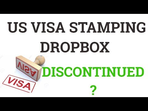 H-1B Renewal stamping Dropbox Eligibility - YouTube