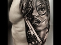 girls with guns tattoos