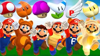 Super Mario 3D Land HD - All Power-Ups