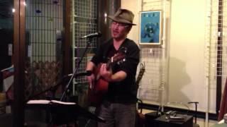 佐藤龍一さん、懐かしい歌を歌う 弦楽茶屋 vol.50 2012.3.10 at La stanza.