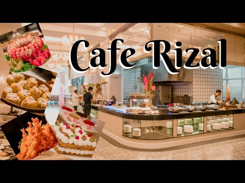 Cafe Rizal | Instagrammable Buffet Ba Kamo?