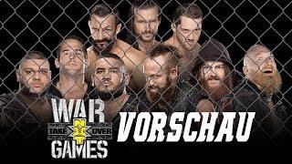 NXT TakeOver: WarGames VORSCHAU / PREVIEW