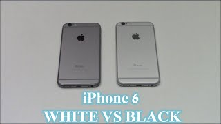 iPhone 6 : White vs Black