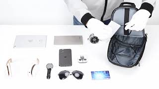 2020년 신제품 EURCOOL 남자 크로스백 USB포…