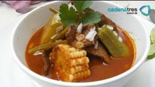 Receta para preparar mole de olla. Receta de mole / Receta caldo cerdo / Comida mexicana