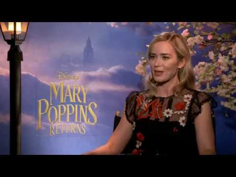 Emily Blunt 'incredibly proud' to be Mary Poppins
