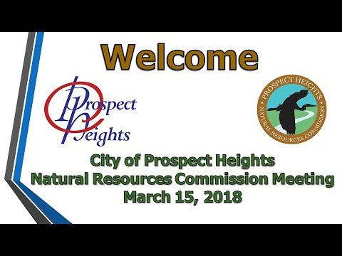 March 15, 2018 Natural Resources Commission Meeting