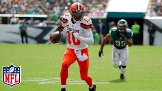 RGIII Injures Shoulder vs Eagles | Browns vs. Eagles | NFL