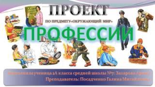"""Проект """"ПРОФЕССИИ"""""""