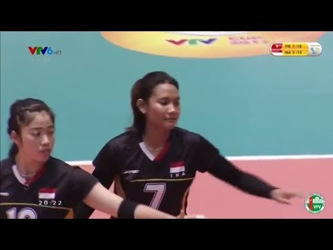 VTV CUP 2017 VIETNAM VS INDONESIA (2 - 3)