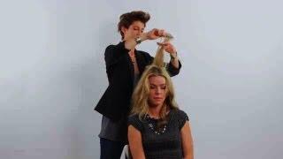 How to Make a Hair Bump Using a Sponge | Cute Hairstyles
