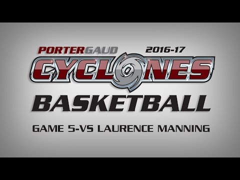 Porter-Gaud vs Laurence Manning Basketball Highlights