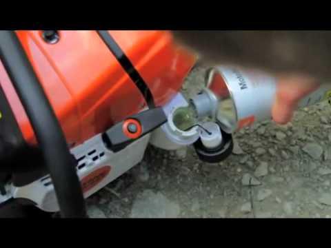 The Stihl GS 461 Rock Boss Concrete Cutter...