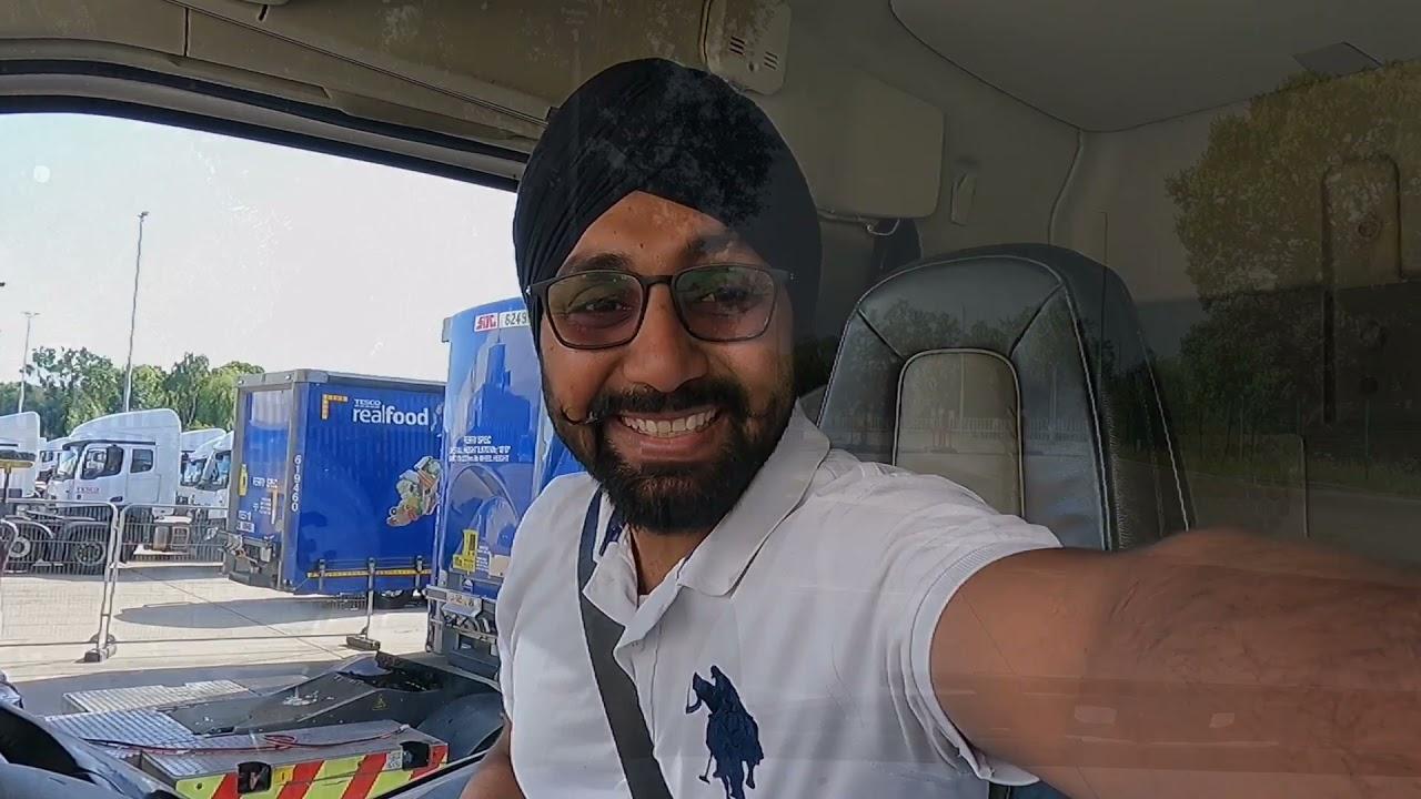 Punjabi Truck Driver Vlog | ਪੈਸੇ ਕਮਾਉਣੇ ਏਨੇ ਸੋਖੇ ਨਹੀਂ | LADDI SAHOTA