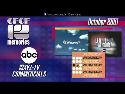 2001-10 - ABC (WXYZ-TV Detroit) Commercials (Halloween / October)