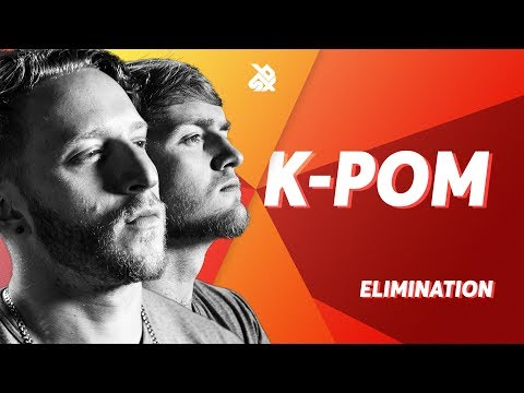 K-PoM  |  Grand Beatbox TAG TEAM Battle 2018  |  Elimination