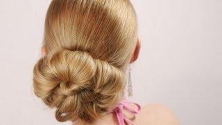 Frisuren für langes Haar Abschlussball