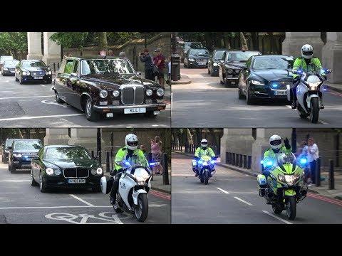 Royal Family & VIPs leaving Trooping the Colour 2018! - SEG Convoys