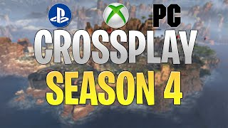 CROSSPLAY in Season 4! Apex Legends