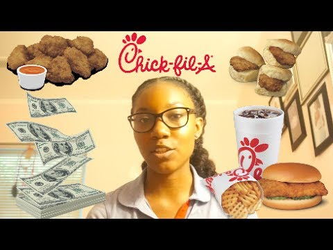 MY EXPERIENCE WORKING AT CHICK-FIL-A.. MAKING MORE THAN MINIMUM WAGE? FREE FOOD?