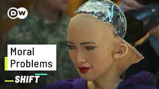 Download This Robot would kill 5 People | AI on Moral Questions | Sophia answers the Trolley Problem Mp3 and Videos