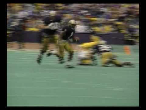 Husky Legend Highlights: Napoleon Kaufman