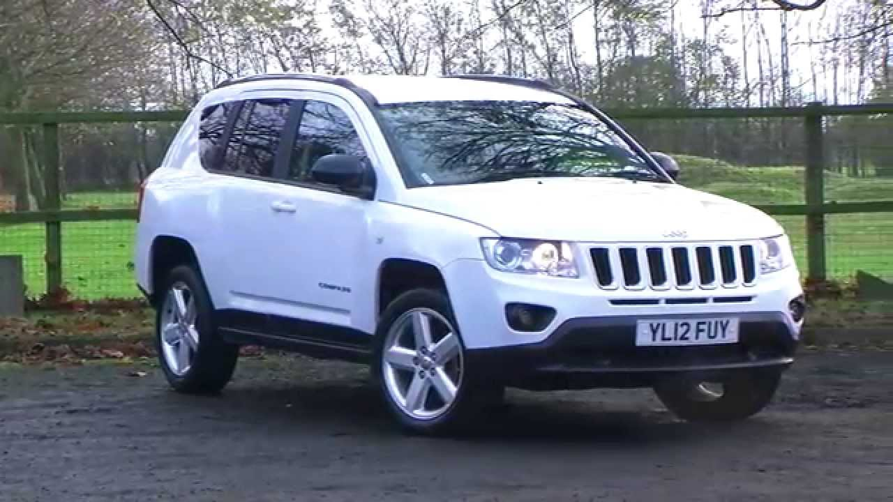 Jeep Compass 2 2crd Limited 5dr Stunning Huge Spec 4 X 4