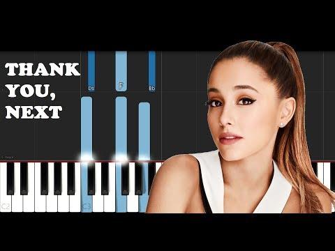 Ariana Grande - Thank you, next (Piano Tutorial)
