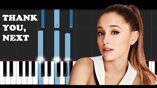 Ariana Grande - Thank you, next (Piano Tutorial)
