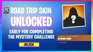 Fortnite: ROAD TRIP SKIN *EARLY*, MASSIVE UPDATE TOMORROW! v5.3 (Fortnite battle Royale Leaks)