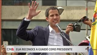 Donald Trump reconoce a Guaidó como presidente interino de Venezuela