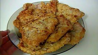 Отбивные из свинины просто и вкусно Chops from pork