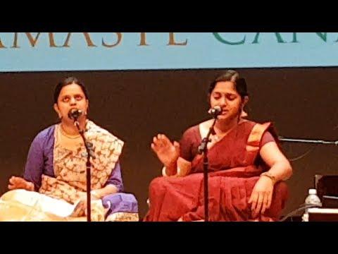 Namaste Canada 2017 (Part 2:15) Classical Music - Sanskruti Music School