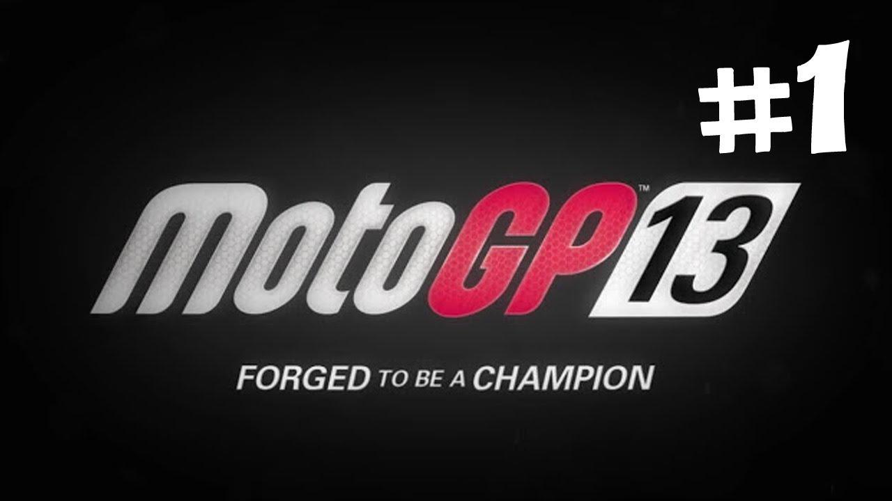 MotoGP 13 - Career Mode Walkthrough - Part 1 - Debut - Jerez Circuit (Let's Play)