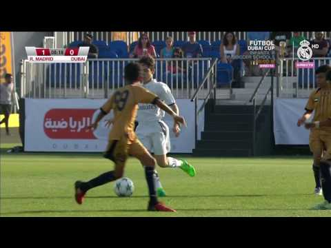 REAL MADRID- DUBAI (DUBAI INTERCONTINENTAL FOOTBALL CUP 2017 U13) quarterfinals