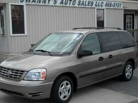 2006 Ford Freestar Se Mini Van