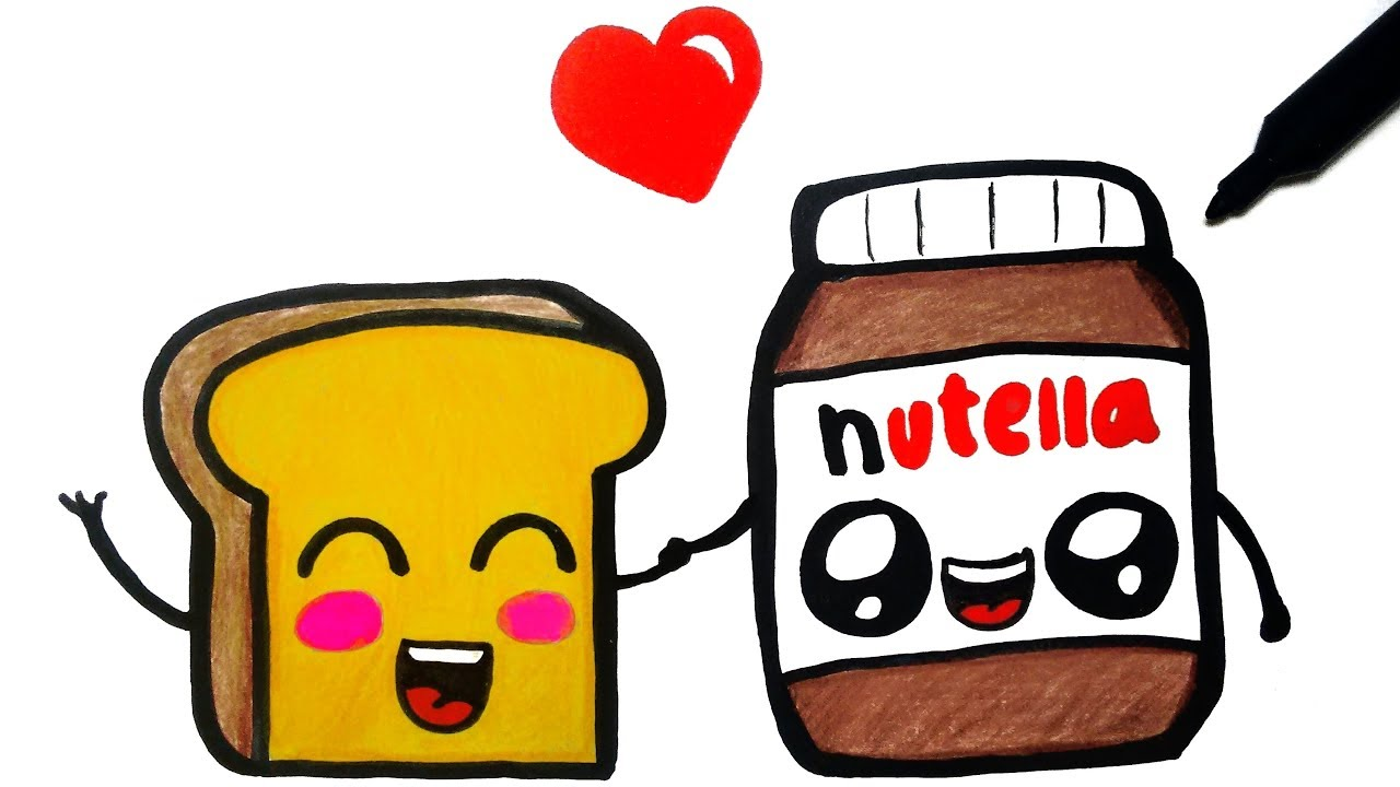 How To Draw Nutella Youtube